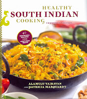 http://www.amazon.com/Healthy-South-Indian-Cooking-Expanded/dp/0781811899/ref=sr_1_1?ie=UTF8&qid=1383839626&sr=8-1&keywords=healthy+south+indian+cooking