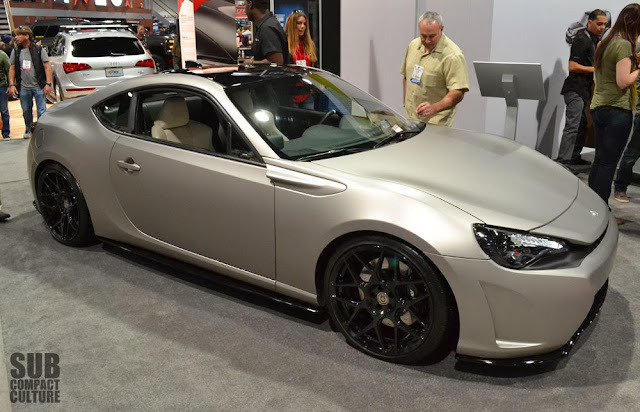Clean Scion FR-S from SEMA