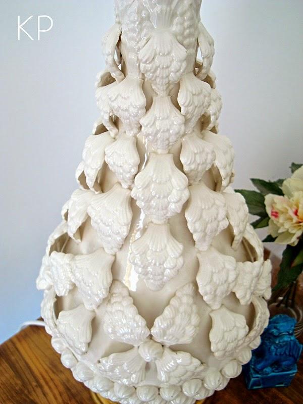 Comprar lámpara manises grande gran formato color blanco