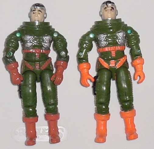 2001 Funskool General Hawk, India, Variants