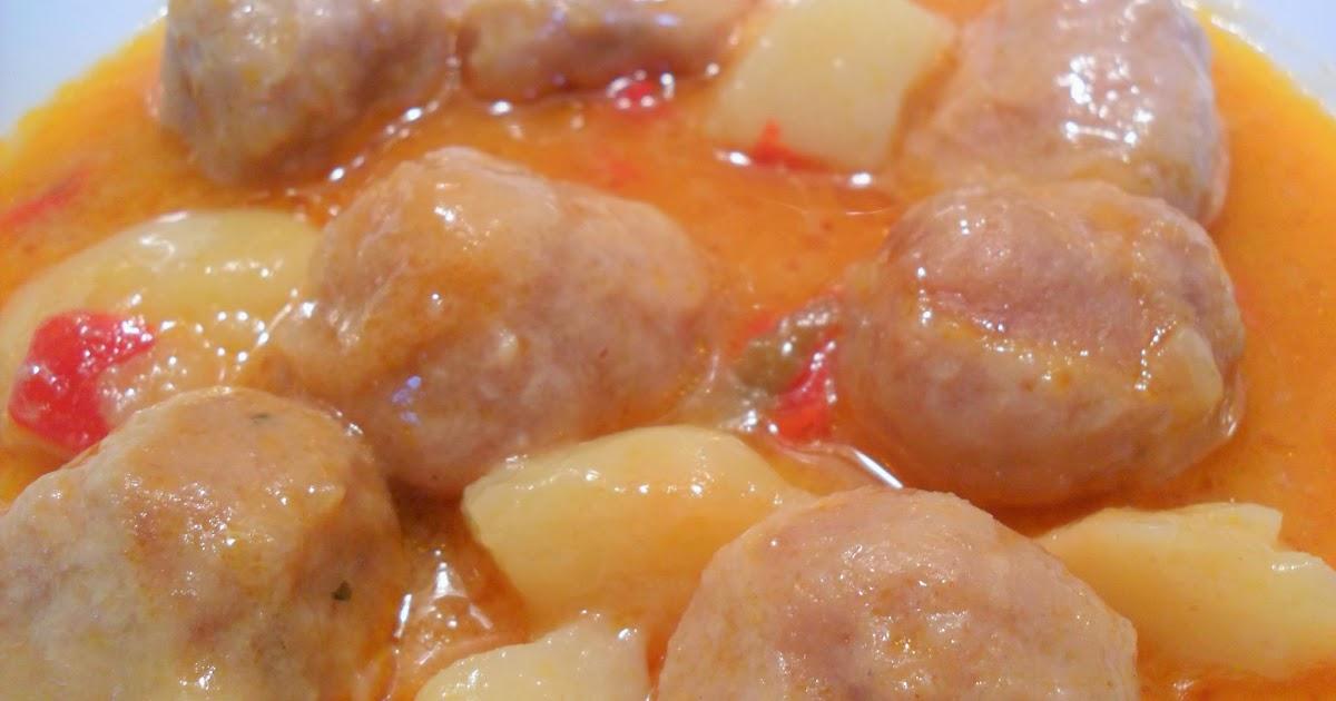 La chef de mi cocina alb ndigas de pollo multicook pro - Tefal multicook pro recetas ...