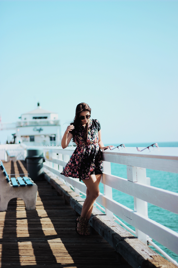 aimerose travel blog malibu pier rasa virviciute