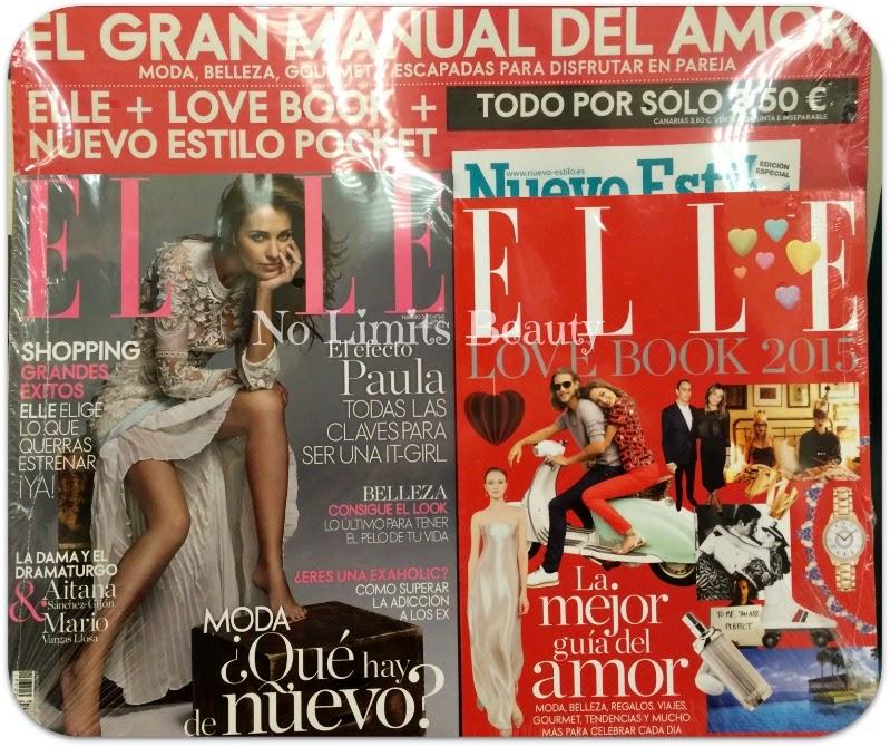 Regalos revistas Febrero 2015: Elle