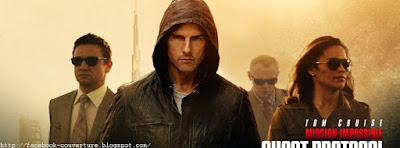 Belle image de Couverture facebook Mission Impossible 5