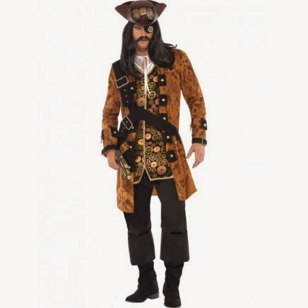 Disfraz Steampunk Pirata