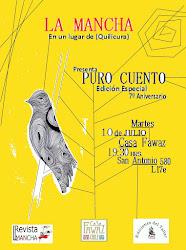 Afiche promocional de PURO CUENTO (Mancha #19)