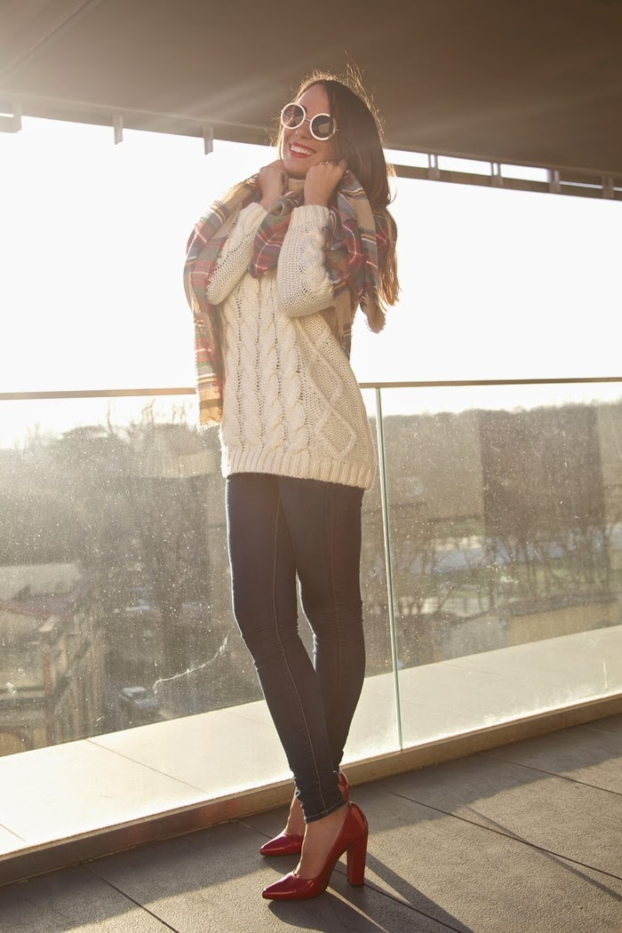 look jeans maglione lana