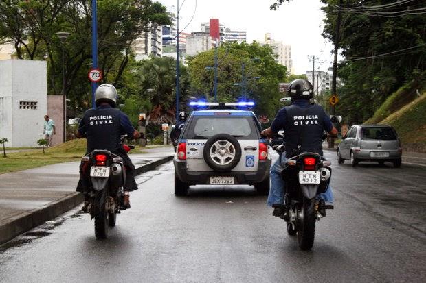 Policiais civis paralisam atividades por 48h na Bahia a partir de hoje (Foto: Almiro Lopes/Arquivo Correio)