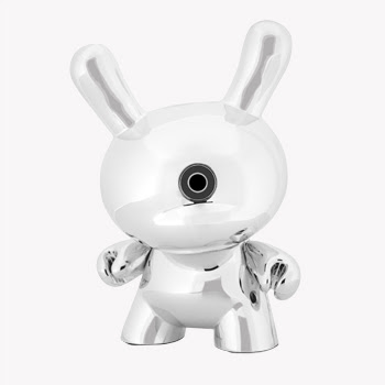 Kidrobot x Skullcandy Headphone Collection - Jacked-Up 3&#8221; Chrome Dunny