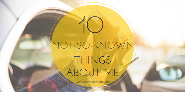 10 not-so-known things about me — October Blogging Challenge Dy 10