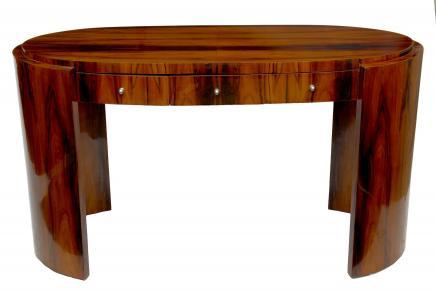 Canonbury antiques art deco desk rosewood writing table bureau office