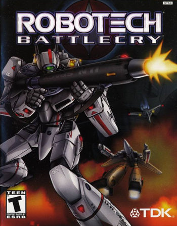 Robotech Battlecry (2003) [PC] [Full] [DVD5] [Esp] [UDL]