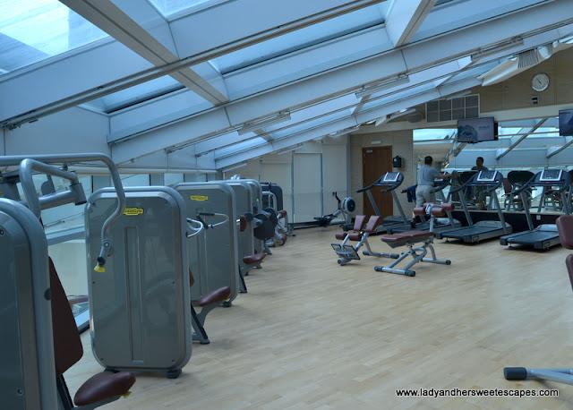 Novotel Fujairah gym