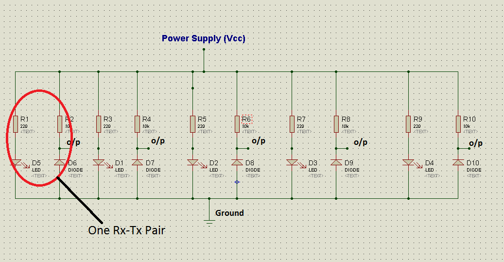 the eruditionso, in this article we will approach to the sensor circuit diagram i used the circuit diagram as below