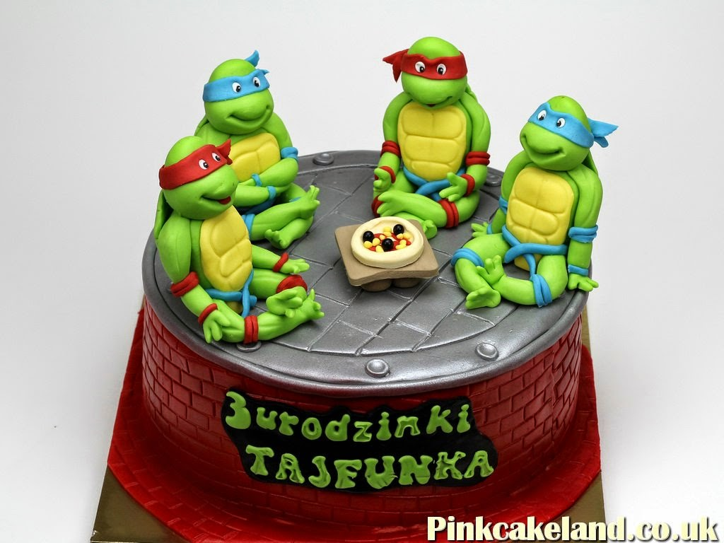 Teenage Mutant Ninja Turtles Cake, Chelsea UK