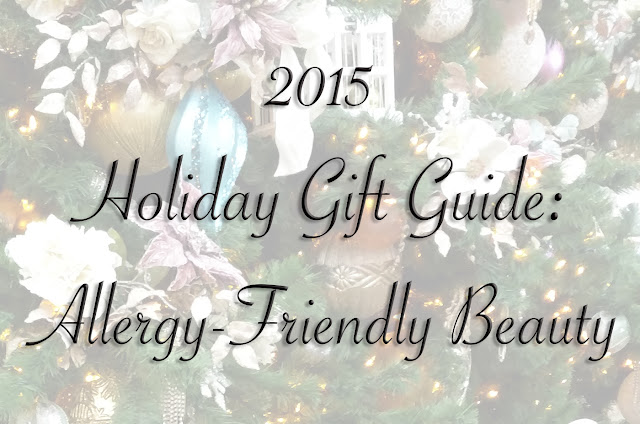 holiday gift guide 2015 allergy-friendly beauty