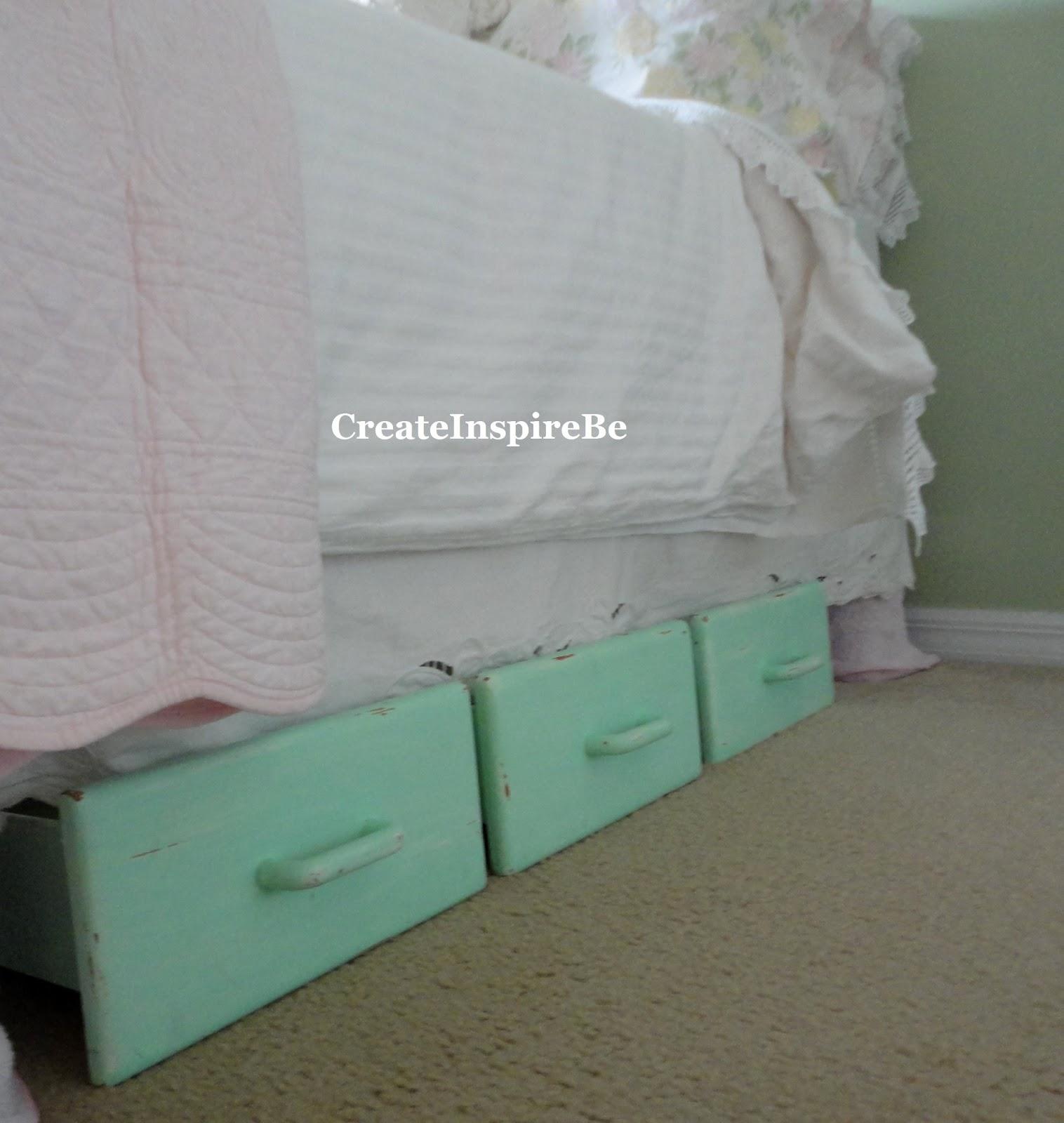 create inspire be old wooden drawers turned under bed storage. Black Bedroom Furniture Sets. Home Design Ideas