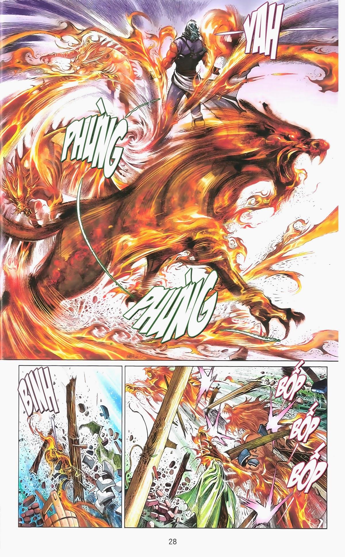 Phong Vân chap 673 Trang 29 - Mangak.info