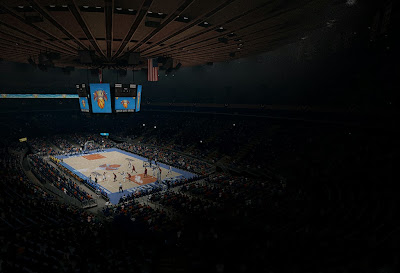 NBA Live 14 Knicks Madison Square Garden Arena Preview