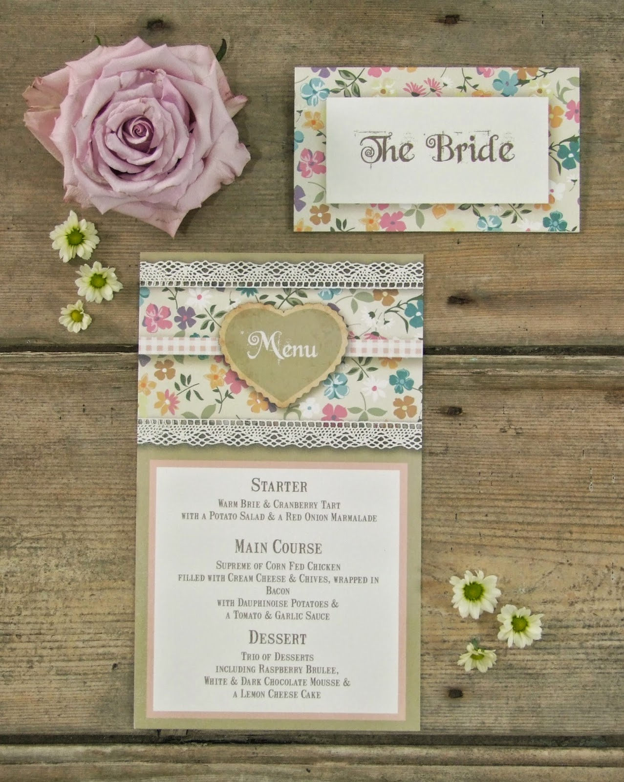 Knots And Kisses Wedding Stationery English Country Garden Fl Invitations Weddbook