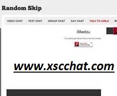 random skip chat