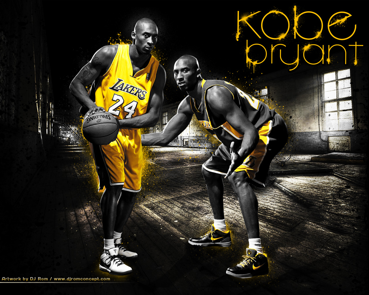 Wallpaper Kobe Bryant by djrom