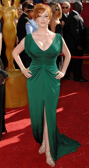 Christina Hendricks Hot 2012