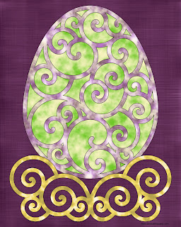 Filigree Easter Egg