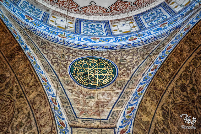 Otman Calligraphy - The Blue Mosque - Y&Y Photography
