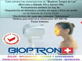 BIOPTRON.TERAPIA DE LUZ SIN EFECTOS SECUNDARIOS NEGATIVOS