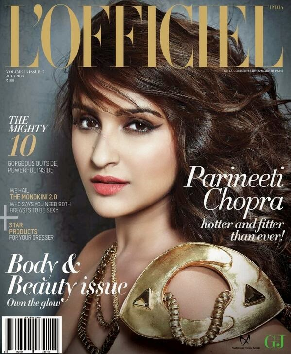 Parineeti Chopra L'officiel India July 2014