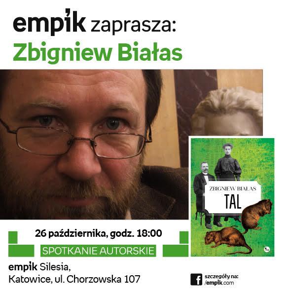 Zaproszenie do Katowic na spotkanie ze Zbigniewem Białasem