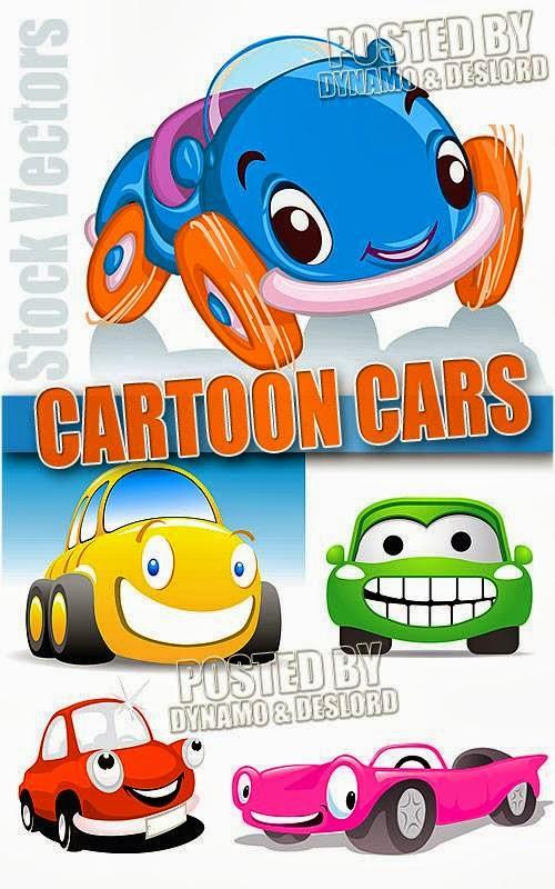 Gambar Kartun Mobil Stock Vector Gratis Download