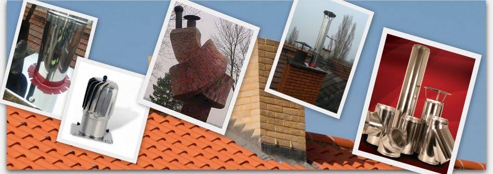 Kominy i wkłady kominowe - sprzedaż montaż i serwis