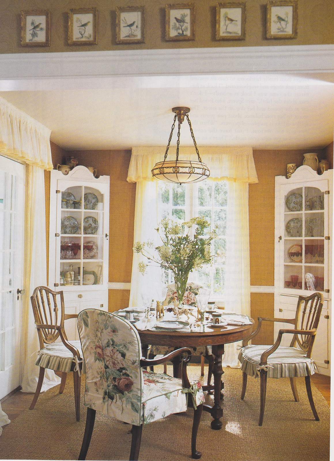Betsy Speerts Blog My cottage dining room