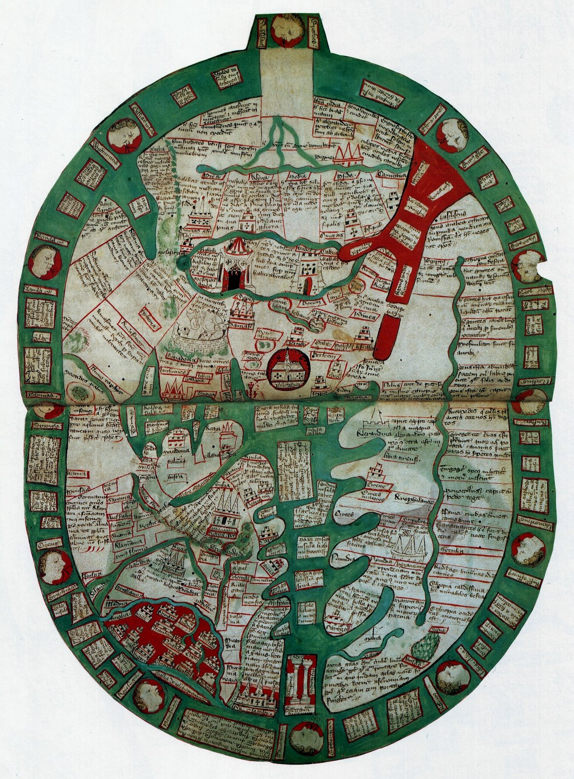 S VIKAS: World Map 14th Century