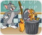 Tom và Jerry dọn dẹp lớp, game hoat hinh