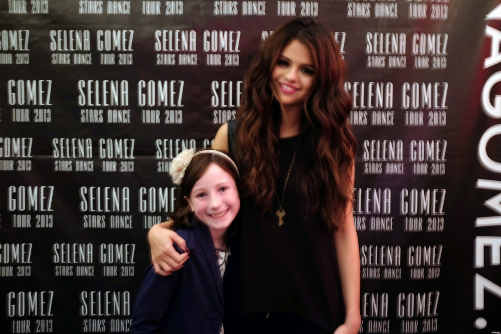 Selena Gomez Style Stars Dance World Tour Meet Greet London