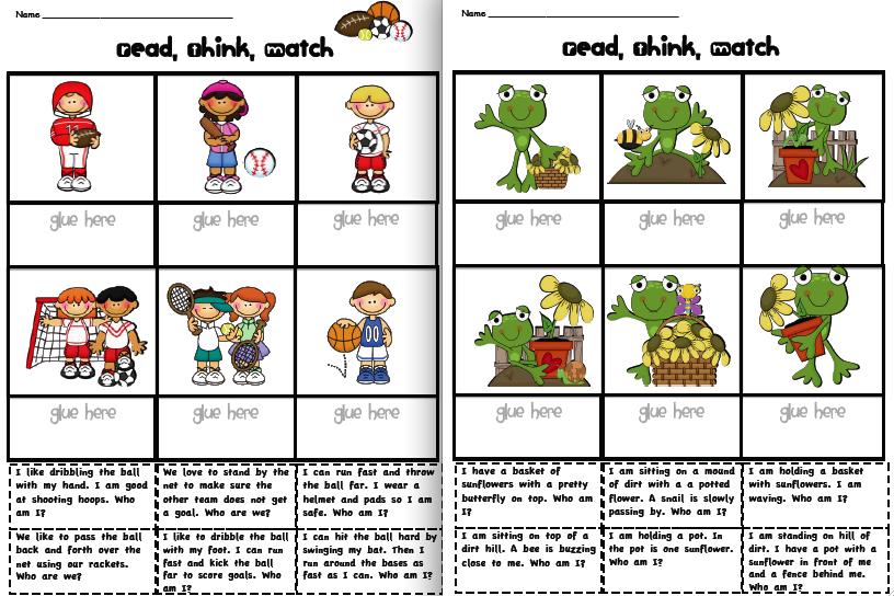 Sarahu0026#39;s First Grade Snippets: May Literacy Menu posted!
