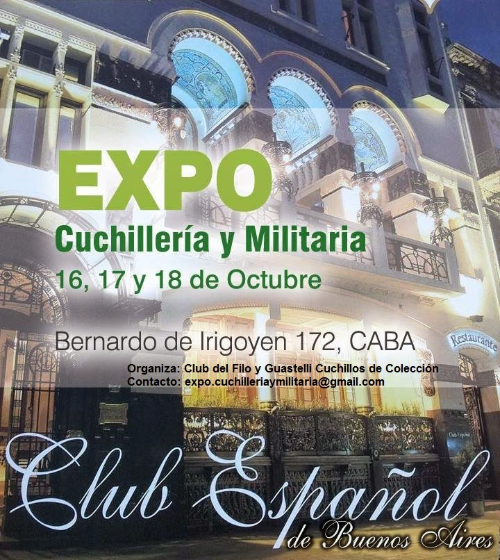 Expo Cuchillería y Militaria