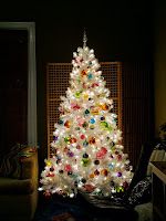 hopefully our white tree will look half as good as this, although we did buy coloured lights which may be a mistake