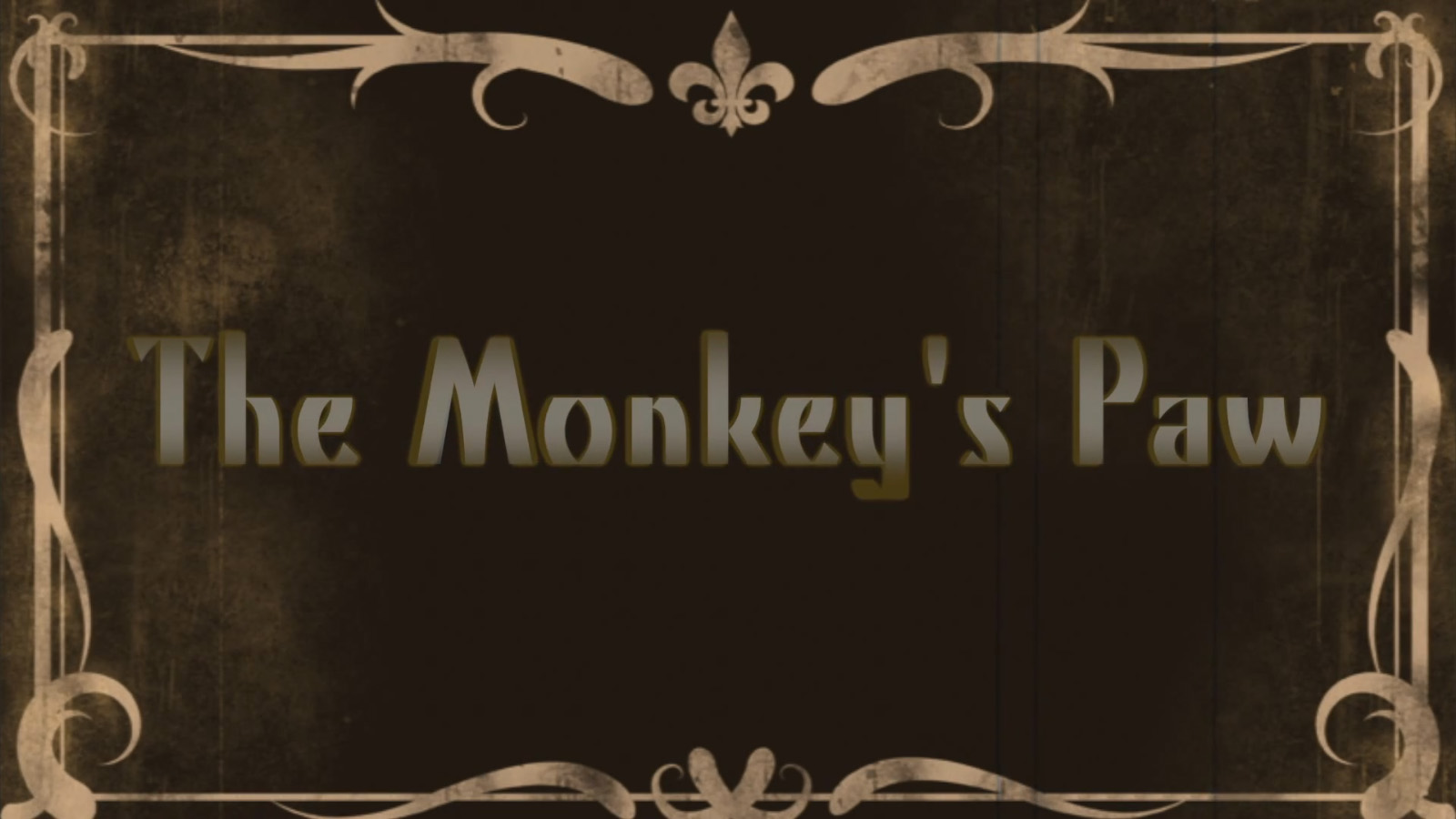 fearful wishing the monkeys paw essay