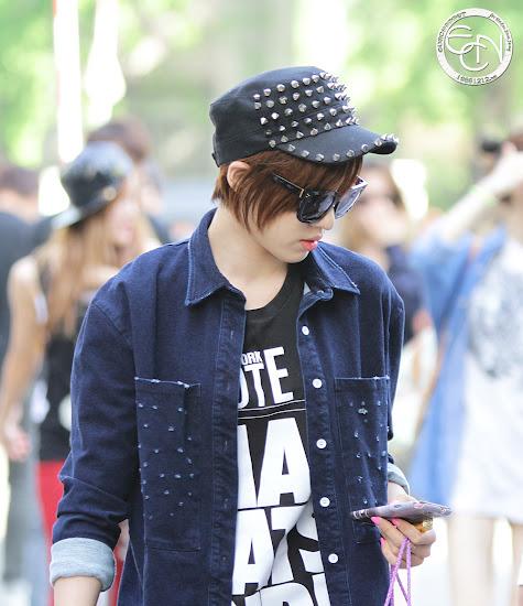 Foto T-ara Eunjung di KBS Music Bank 130531