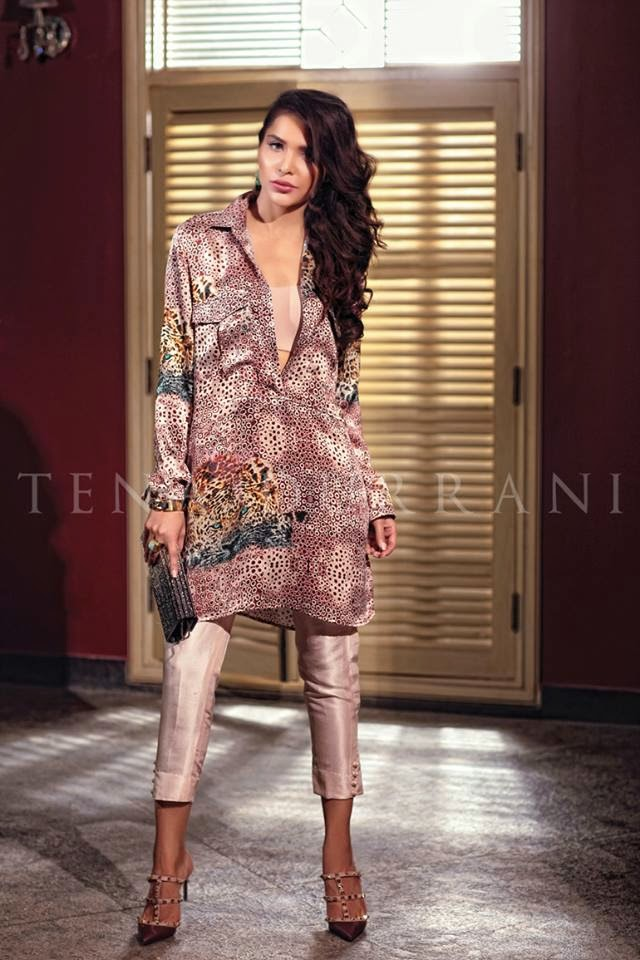 Tena Durrani new lawn collection 2015