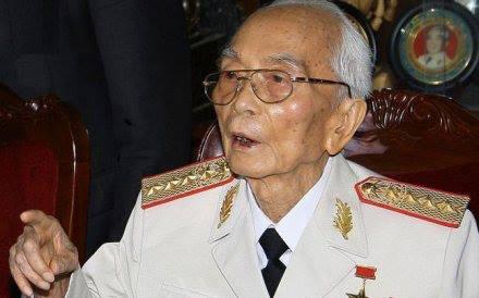 Chúc thọ đại tướng Võ Nguyên Giáp