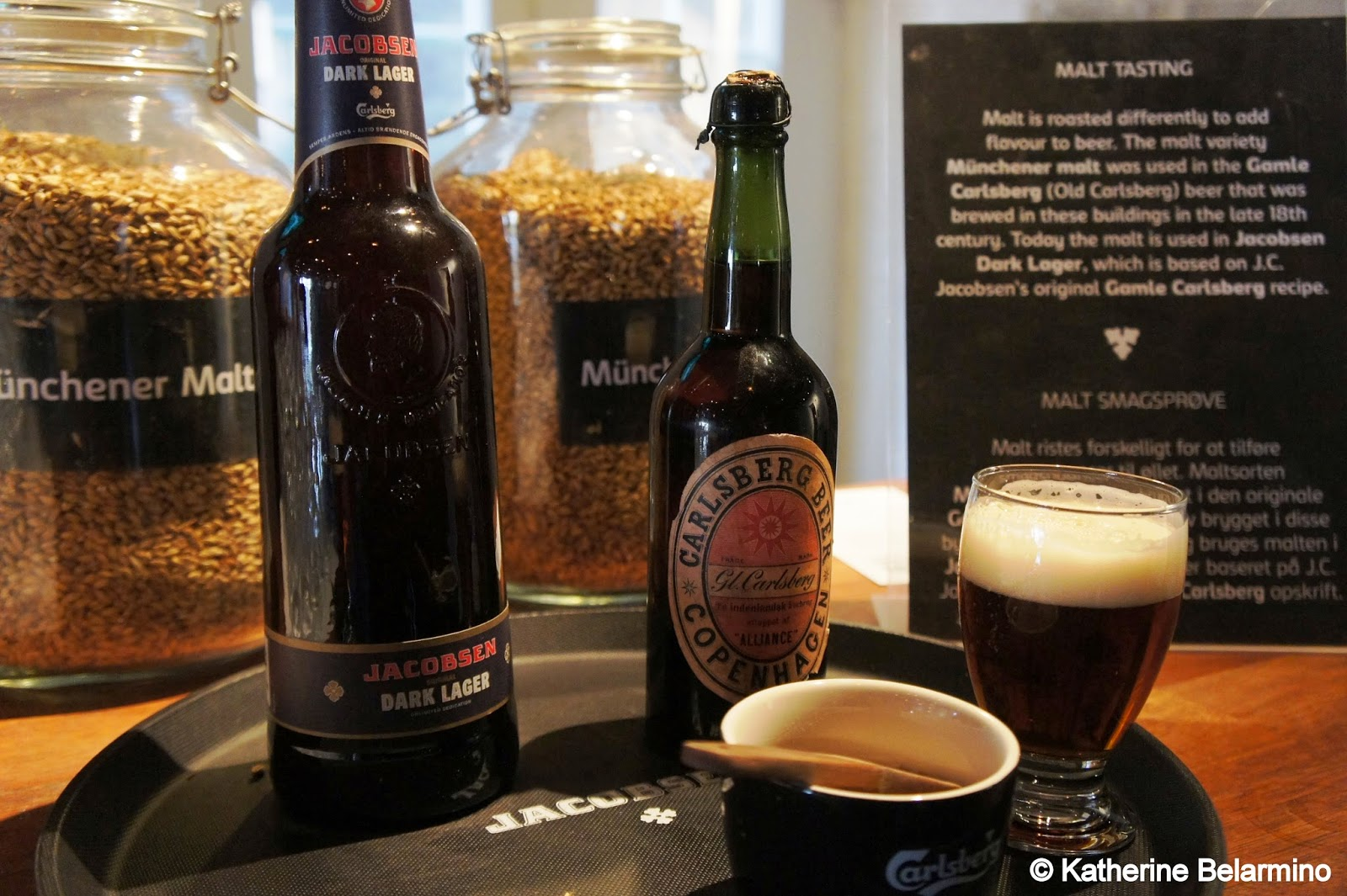Carlsberg 1854 Recipe Beer Carlsberg Brewery Copenhagen Denmark