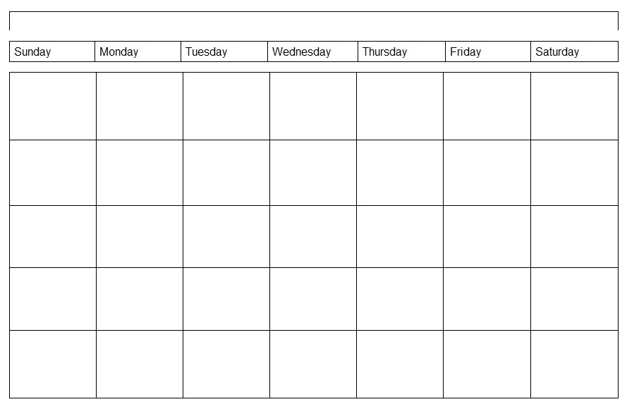 Download the Weekly Calendar Template Image