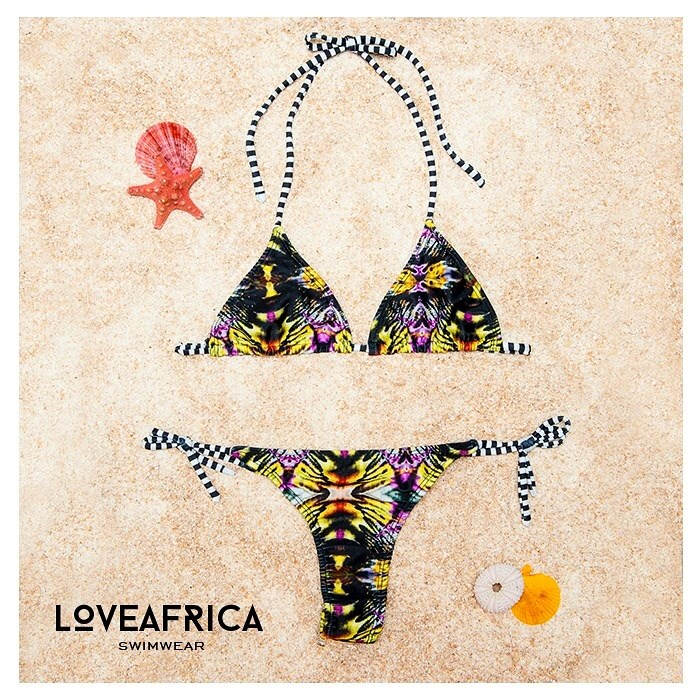 i love africa bikinis