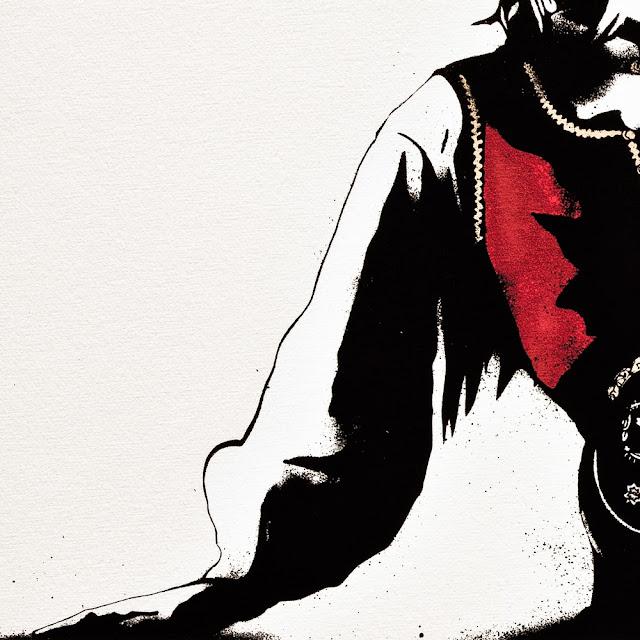 """Bunad"" New Screenprint by Norwegian Street Artist Pøbel 4"
