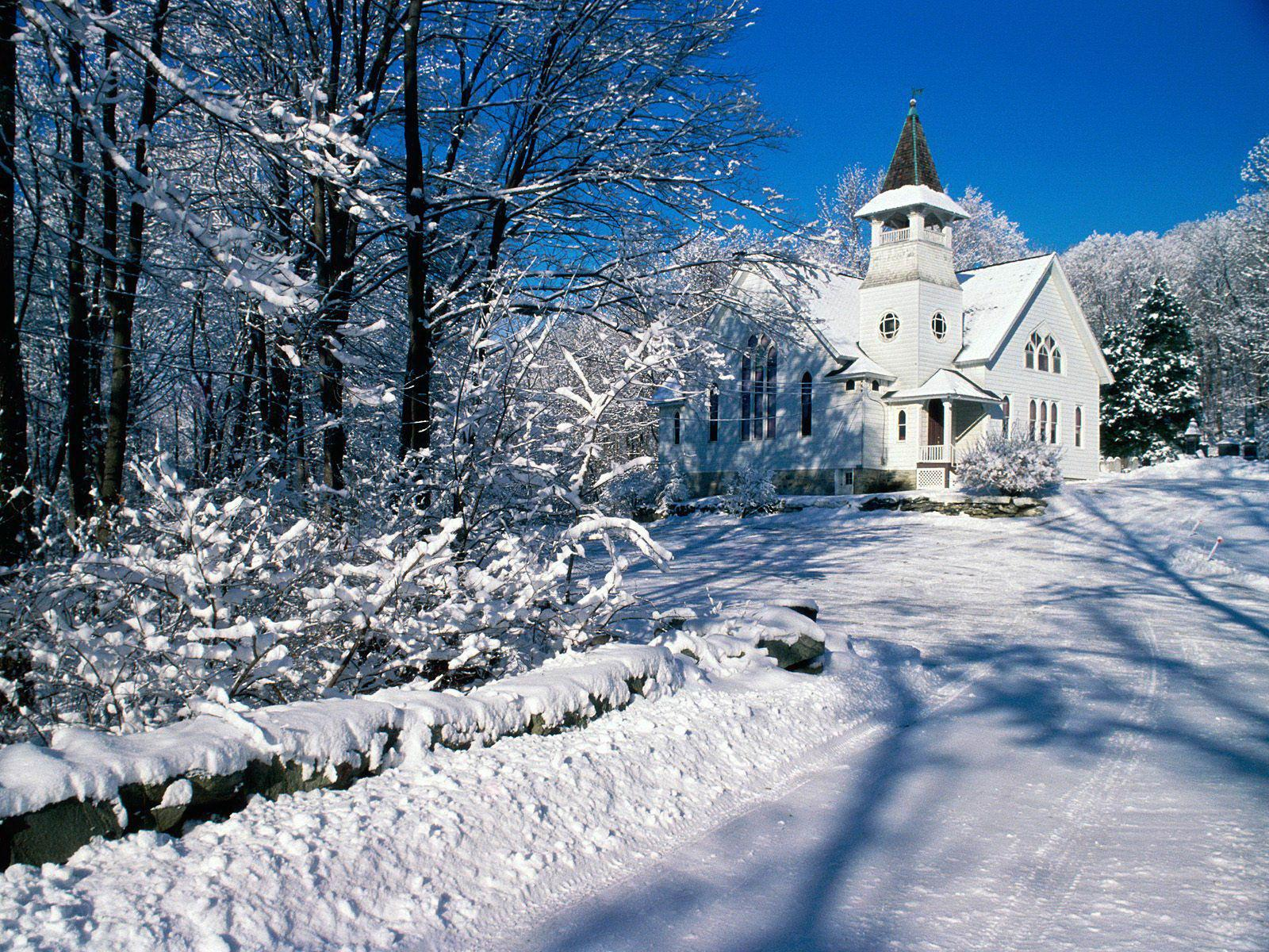 Winter landscape wallpapers clickandseeworld is all about for Sfondi invernali desktop